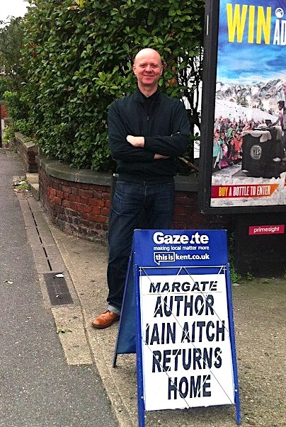 Iain Aitch in Margate