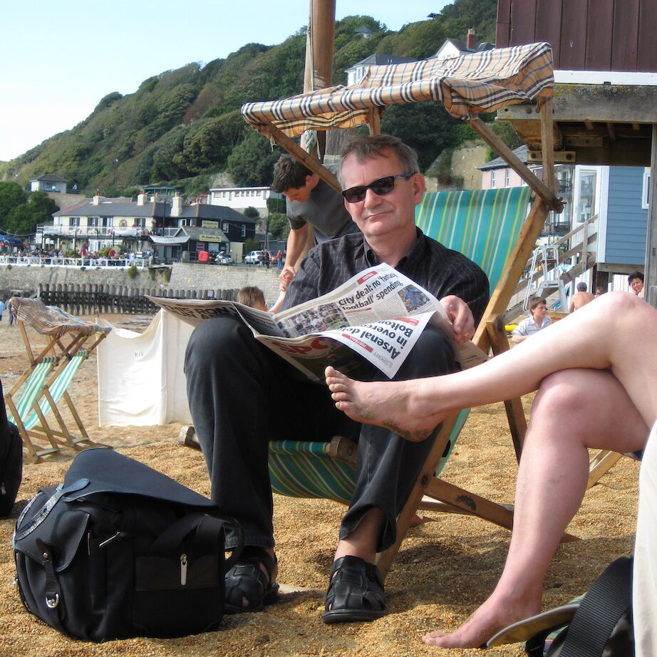 Martin Parr on Isle of Wight