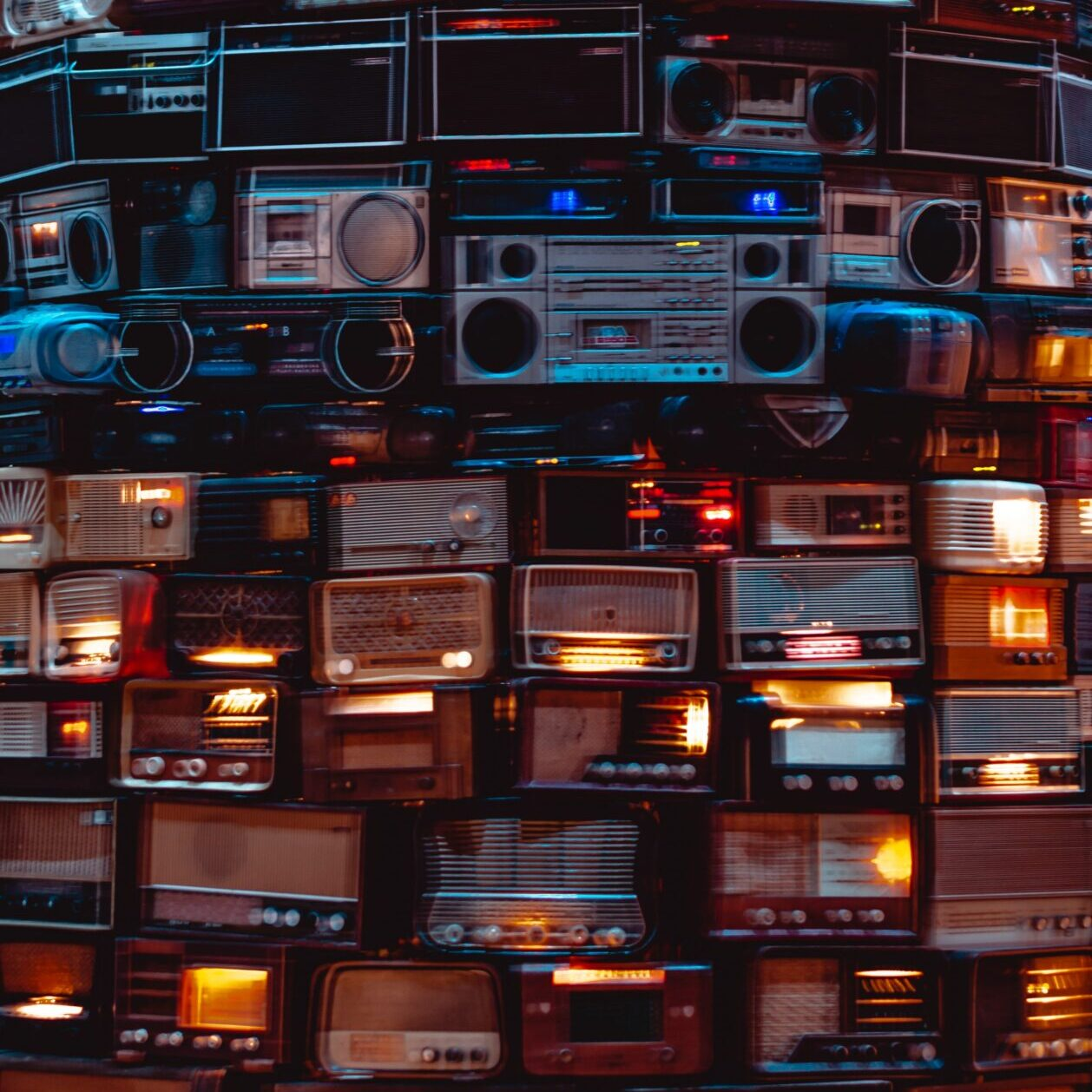 noise making cassette recorders